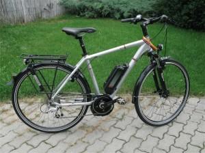 Kalkhoff Bosch motoros pedelec kerékpár