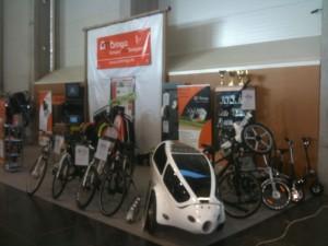 Bringaexpo 2013 Ambringa stand elektromos kerékpár rész
