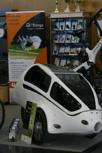 Annyira Más Bringabolt egyik különlegessége a napcellás Pannonrider velomobil