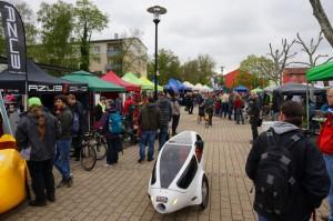 Egy másik magyar gyártmányú velomobil, a napelemes Pannonrider