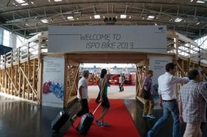 ISPO Bike 2013 tesztpálya bejárata